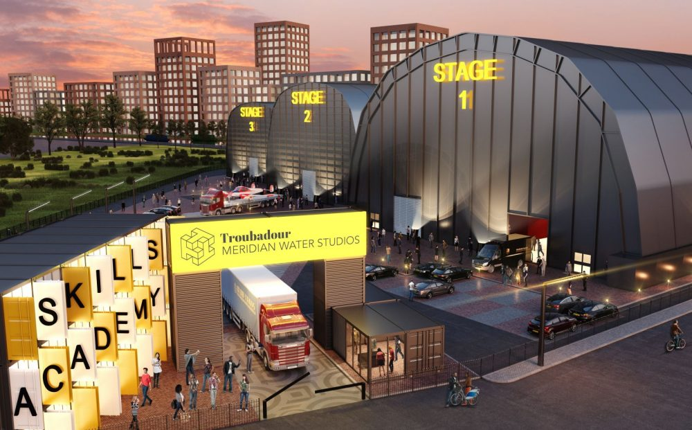 The proposed film studios will feature three stages initially, opening later this year