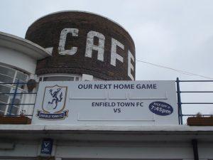 Queen Elizabeth II Stadium, home to Enfield Town FC