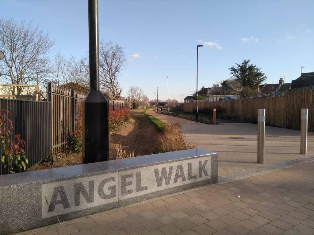 Angel Walk cycle and footpath