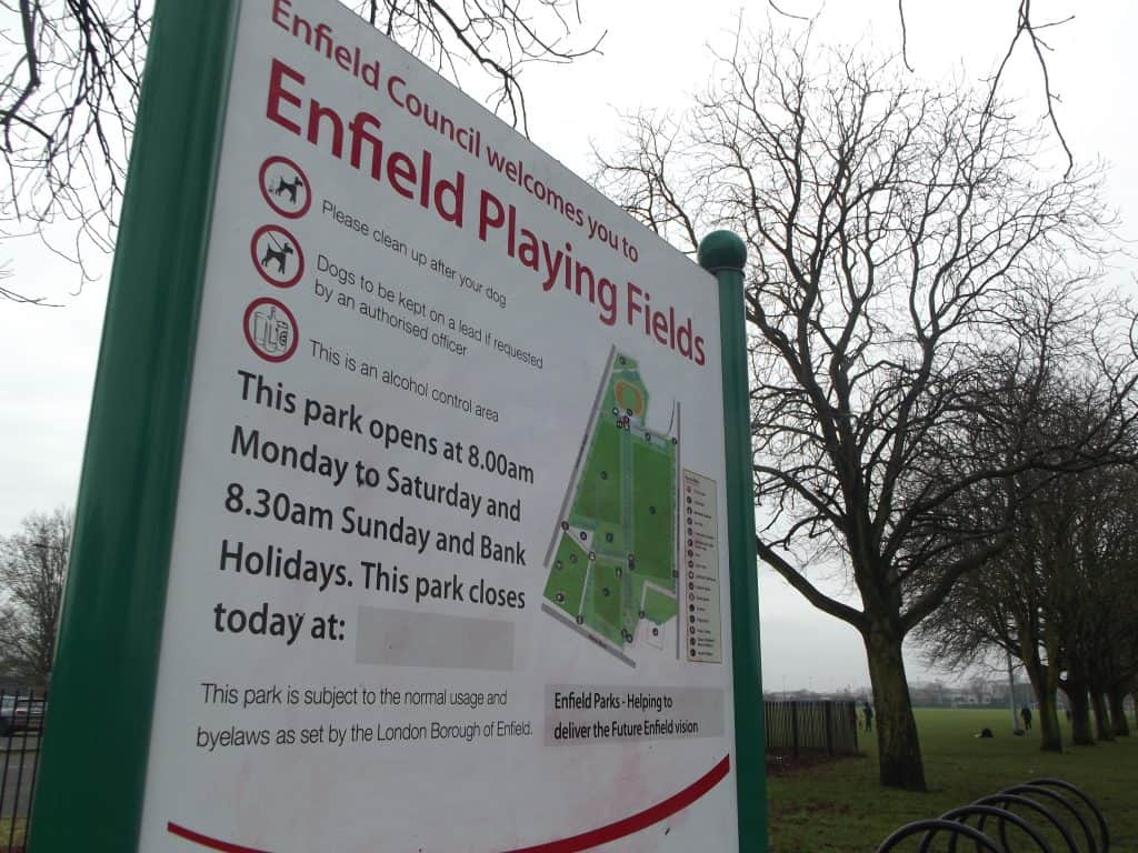 Enfield Playing Fields