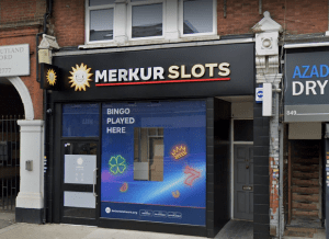 A Merkur Slots venue in North Finchley