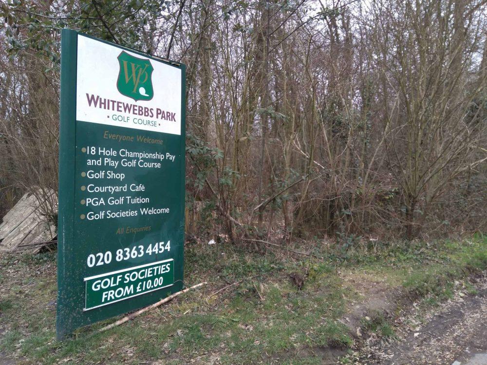 Whitewebbs Park Golf Course