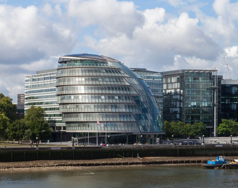 London City Hall (credit Diego Delso/Wikimedia Commons)