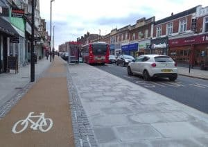 Green Lanes in Palmers Green