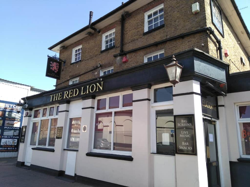 The Red Lion in Hertford Road, Enfield Highway