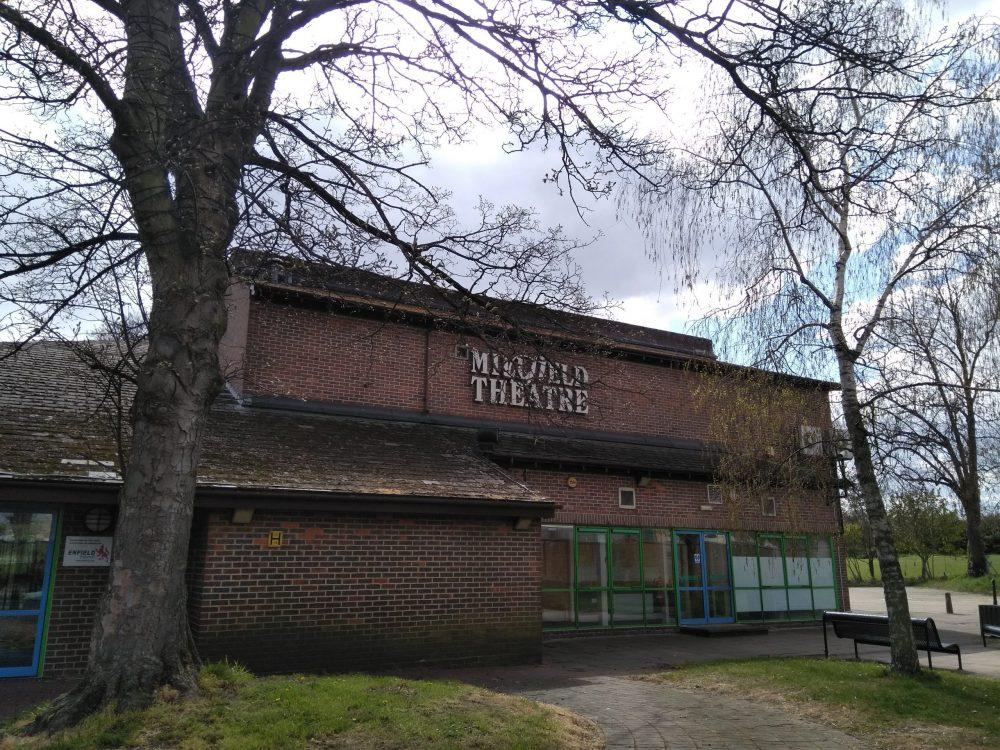 Millfield Theatre in Silver Street, Edmonton