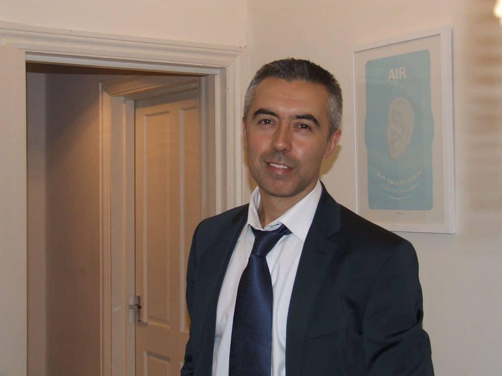 Nishan Dzhingozyan moved to London from Bulgaria in 2005