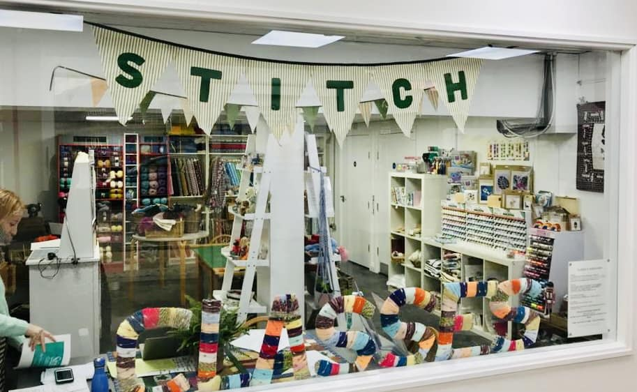 Stitch! is preparing to reopen its shop in Green Lanes