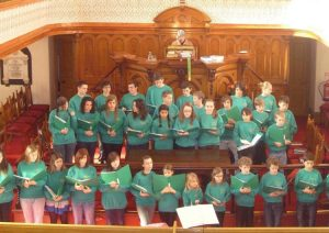 Children's Voices of Enfield performing prior to the pandemic