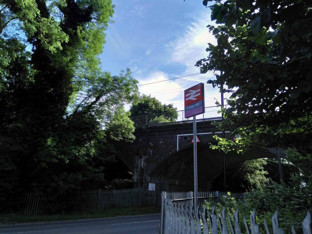 Crews Hill Station