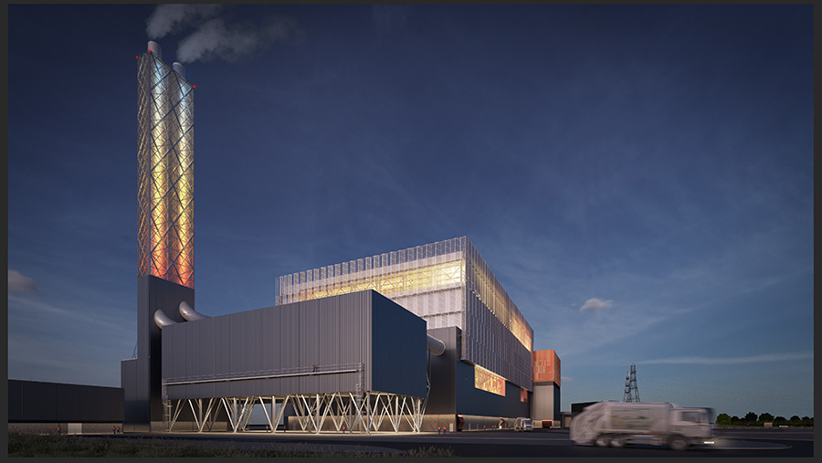 The new energy-from-waste (EFW) incinerator in Edmonton will generate electricity as well as burn waste from seven London boroughs