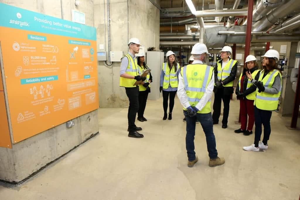 The Energetik network uses heat from Edmonton incinerator