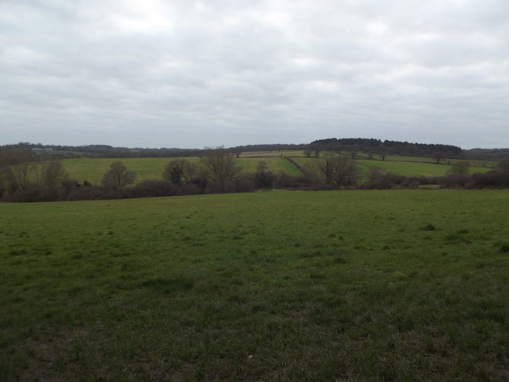 Vicarage Farm in World's End is bisected by a public right of way called Merryhills Way