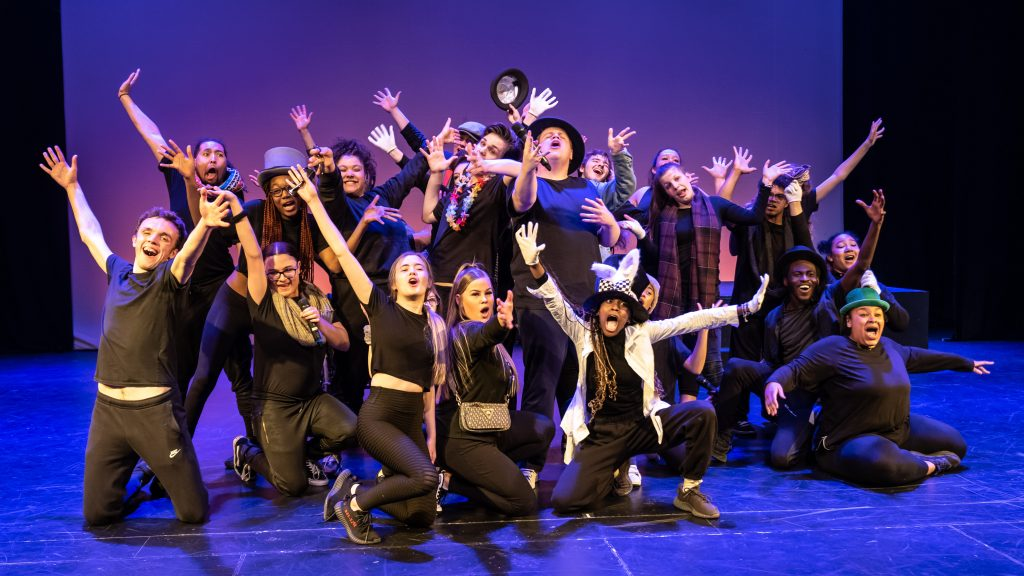 Chickenshed has a long track record of introducing young people from all backgrounds to live performance