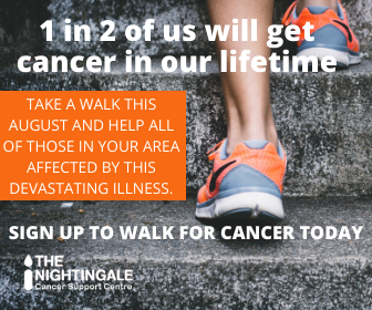 Take a walk this August and help all of those in your area affected with this devastating illness