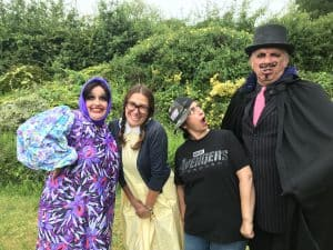 Hazelwood Players are performing a summer pantomime at Broomfield Park called 'So What Stories'