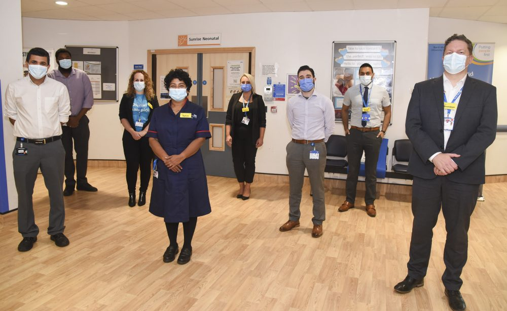 North Middlesex Hospital's prize-winning neonatal team