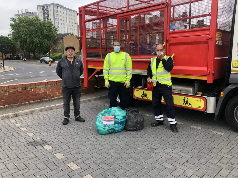 Enfield Council's new cabinet member for environment, Rick Jewell (pictured left), has pledged to reintroduce free bulky waste collections in the borough