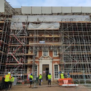 Trent Park House, famous for hosting the 'Secret Listeners' during the Second World War, is currently being restored to its former glory