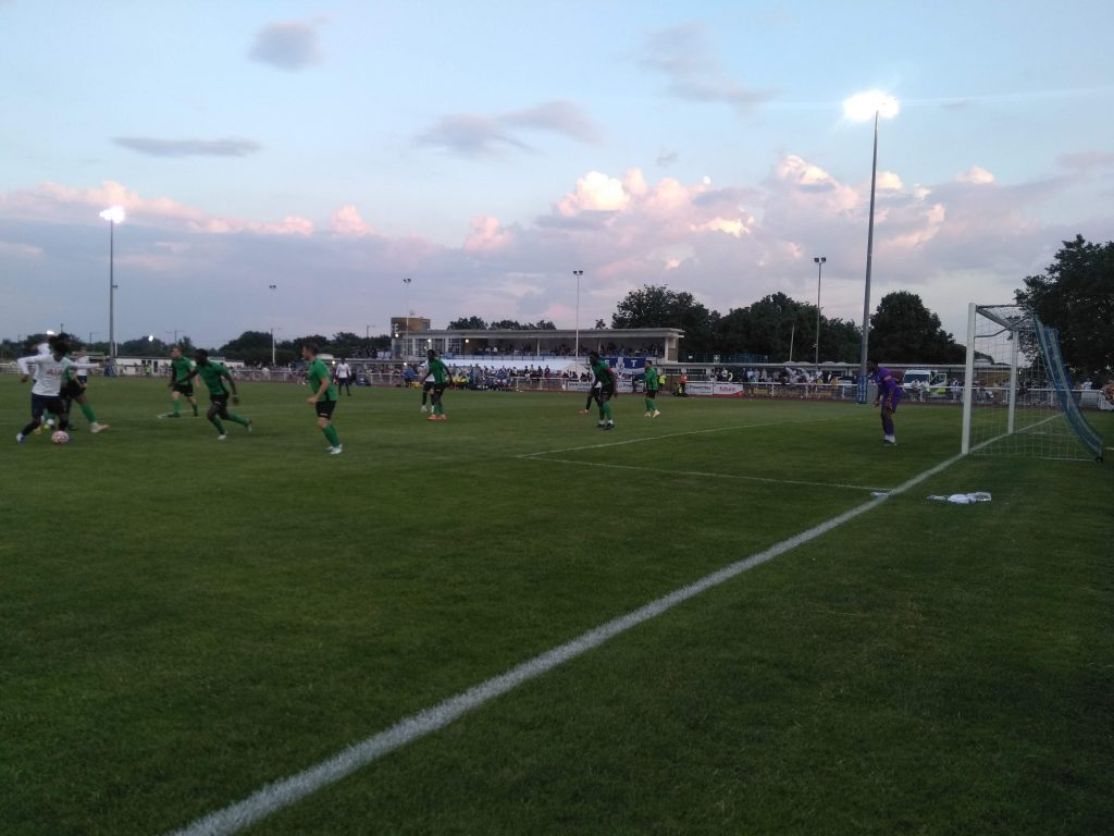 A Spurs under-23s side visited the QE2 Stadium to face Enfield Town in a pre-season friendly