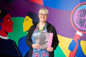 Liz Sorton is working with UnLtd and Bountagu Big Local on delivering mental health training to adults who work with young people in Edmonton (credit Natalie Gee)
