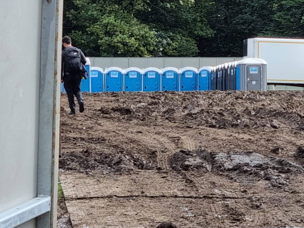 """The """"mud bath"""" that followed the staging of 51st State Festival at Trent Park earlier this month"""