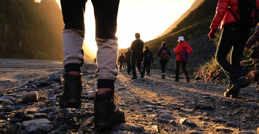 A sponsored walk (credit Henry Xu on Unsplash)