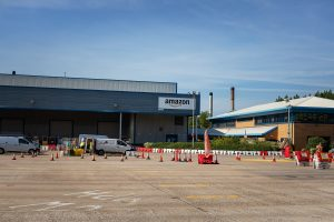 Amazon's Brimsdown depot provides a base for deliveries across North London and beyond