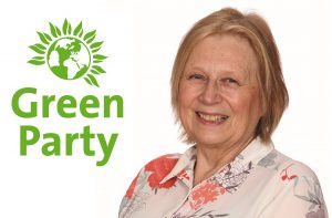 Southgate Greeen councillor Anne Brown has become Enfield's second Green councillor