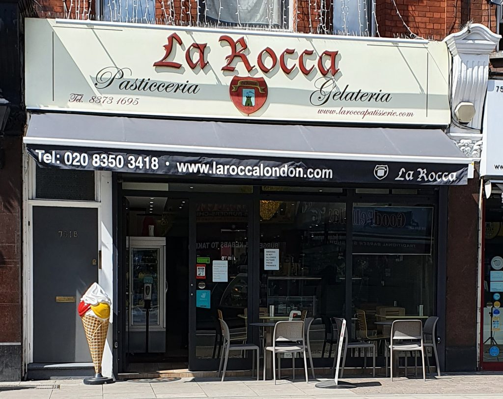 La Rocca in Green Lanes, Winchmore Hill, has been running for 15 years