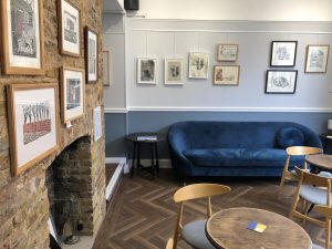 The new exhibition space at The Southgate Club is free to browse for non-members