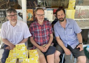 From left; Southgate authors Martin, Dan and Alex