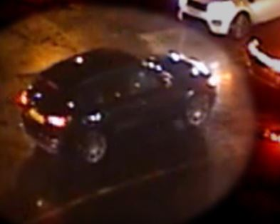 CCTV image of a car police have linked to the killing of Richard Odunze-Dim