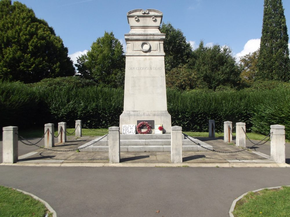 Enfield Cenotaph was officially unveiled on 30th October 1921 at Chase Green Gardens