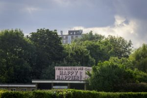 Public artwork in Albany Park created by Shey Press (credit Kazimir Bielecki)